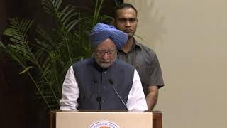 Former PM Manmohan Singh speech at Indira Gandhi Award for National Integration