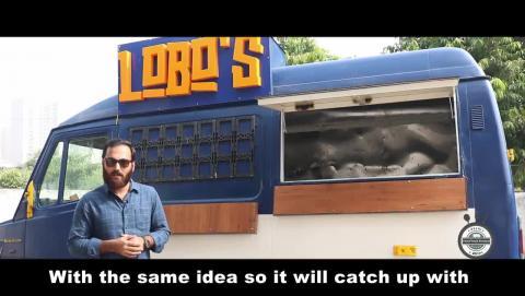 Lobo's Food Truck - Delhi Food Truck Festival 2017