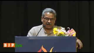 Dr  Krishnagopal addresses the valedictory session of National Writer's meet  31 07 2016