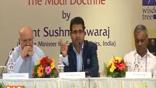 Panel Discussion on the Book of 'The Modi Doctrine' Release by Hon. EAM Smt Sushma Swaraj 13.08.2016