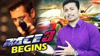 Salman Khan's RACE 3 Begins - Shooting Details - Jacqueline Fernandez, Daisy Shah, Bobby Deol