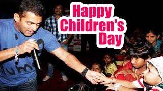 I Am Extremely Fond Of Children - Salman Khan REACTION On Children's Day 2017