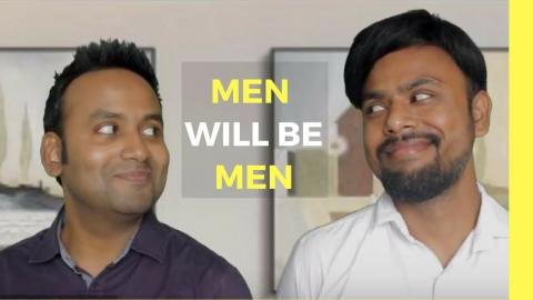 Men Will Be Men - The Office Bunk | Bro Code | Comedy Vine