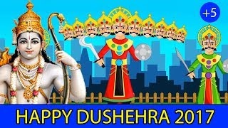 Dussehra Rhyme 2017 | Indian Festival Rhymes | Diwnali and 5 more | StoryAtoZ.com