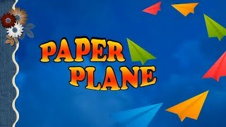 Paper Plane in 5 Steps | Paper craft | Plane with Paper | Craft Art | StoryAtoZ.com