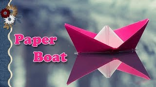 Paper Boat in 8 easy Steps | Paper Craft | Boat with Paper | Craft Art | StoryAtoZ.com