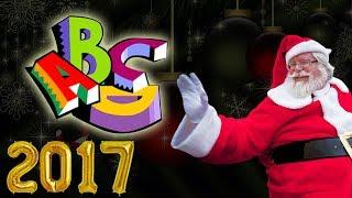 Abcd rhymes for children by Santa | Christmas songs 2017 | Talking Santa | StoryAtoZ.com hindi