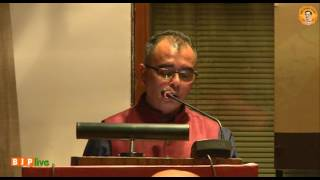 Discussion on 'Must Bengal Waste?' by Sh. Jaideep Mazumdar at IIC on 16 03 2017