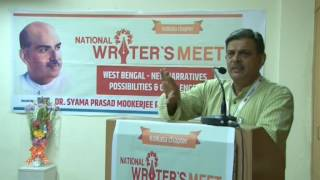 Shri Dattatreya Hosabale Ji (Sah-Sarkaryavah, RSS) at Kolkata Writers Meet 29.04.2017
