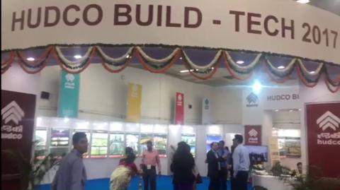Preparations Hudco Build - Tech 2017 - IITF 2017