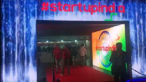 Start Up India Pavilion at Hall No 18 - IITF 2017