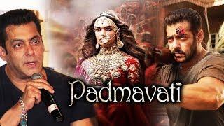 Salman Khan SUPPORTS Padmavati, Tiger Zinda Hai And Padmavati Have 1 Thing In Common