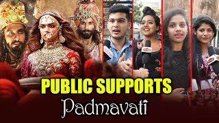 Public SUPPORTS Padmavati - Deepika Padukone, Ranveer Singh, Shahid Kapoor