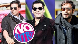 Akshay Kumar Replaces Salman Khan In No Entry Sequel, Salman, Ajay And Akshay Together In A Film