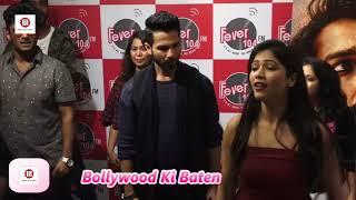 Shahid Kapoor Promote Of Film Padmavati At Fever 104 FM Radio Station