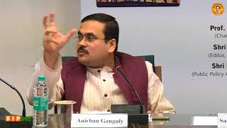 "Dr. Anirban Ganguly's speech - RTD on ""Milestones in Governance & National Security - 2014-2017"""