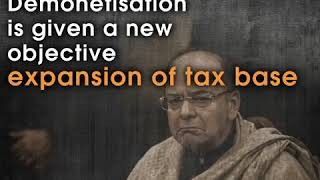 Objectives of demonetisation have changed more times than Narendra Modi has said 'Mitron'.