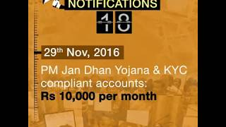 71 notifications to an unwarranted demonetisation confirm Modi's organised loot & legalised plunder