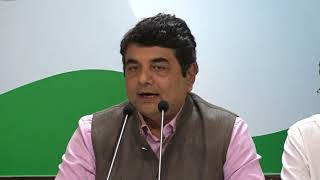 AICC Press Briefing By RPN Singh on economic policy of modi government