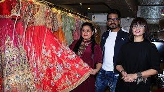 Bharti Singh & Harsh Limbachiyaa Visit Neeta Lulla Store For Wedding Outfits