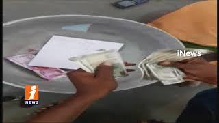 Man Thefts Rs 62000 At Rajanna Temple In Vemulawada | Rajanna Siricilla | iNews