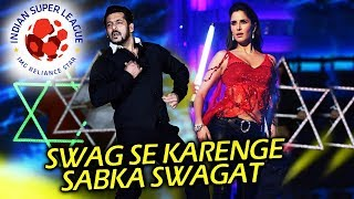 Salman-Katrina To Launch Swag Se Swagat Song At ISL Opening Ceremony | Tiger Zinda Hai