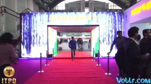 Theme pavilion Hall No - 18  #startupindia #Standupindia  #IITF2017