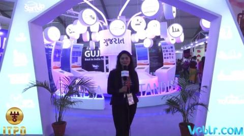 Gujarat pavilion at #IITF2017