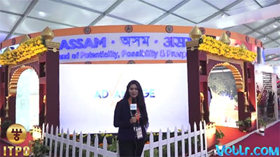 Assam Pavilion - 37th India International Trade Fair 2017 #IITF2017 #startupindia #Standupindia