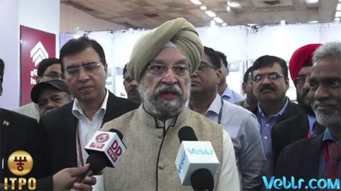 Exclusive Interview - Honorable Minister of State Shri Hardeep Singh Puri Part-1 at 37th India International Trade Fair 2017