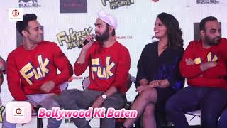 Song Launch Of Film Fukrey Returns With Pulkit Samrat,Richa Chadda,Varun Sharma,Ali Faisa HD Video