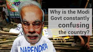 GST | Why is the Modi Govt Constantly Confusing the Country ?