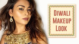 DIWALI MAKEUP LOOK| INDIAN