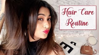 MY HAIR CARE ROUTINE | DRY DAMAGED HAIR