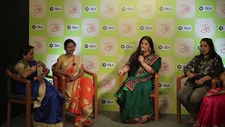 Vidya Balan Meets OLA Woman Driver, Share Success Stories