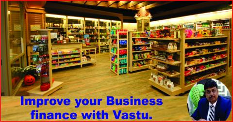 Improve your Business finance with Vastu.