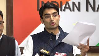 AICC Media Byte by Jaiveer Shergill on Situation of Child Health Care in Gujarat