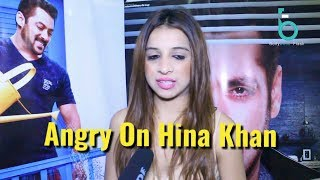 Benafsha Angry Reaction On Hina Khan For Bitching | Bigg Boss 11