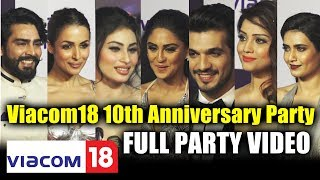 Star Studded Viacom 18 10th Anniversary Party | Grand Celebration | Biggest Party Of The Year