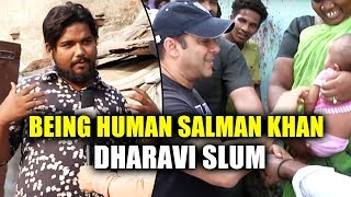 Salman Bhai Ne Bohot Help Kiya | Public Reaction | Salman Khan Being Human In Dharavi Slum