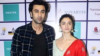Ranbir Kapoor And Alia Bhatt Together At Recycle Your Organs Campaign Event