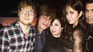 Shahrukh Khan And Katrina Kaif PARTIES With Ed Sheeran | Ed Sheeran In Mumbai