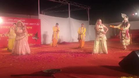 Cultural Programme - Uttar Pradesh Day at IITF 2017 - Part 4