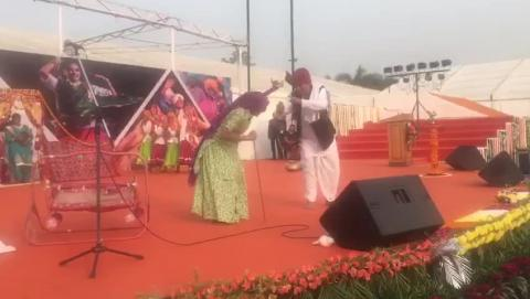 Haryana State Celebrates Its State Day at IITF 2017