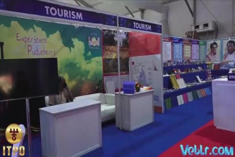 Puducherry Pavilion - 37th India International Trade Fair 2017 #IITF2017 #startupindia #Standupindia