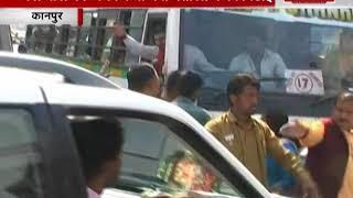 कानपुर में बीजेपी कार्यकर्ताओं की गुंडागर्दी, बसवाले को पीटा