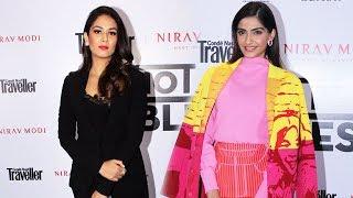 Sonam Kapoor And Mira Rajput At Condé Nast Traveller Signature Event