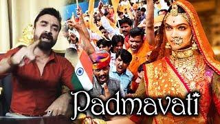 Ajaz Khan Strong Reply To Karni Sena | Padmavati Controversy | Deepika Padukone