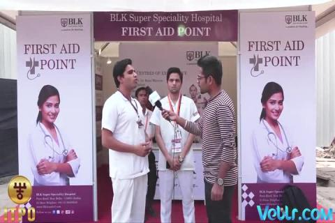 ITPO First Aid Center at 37 IITF in Association with BLK Hospital
