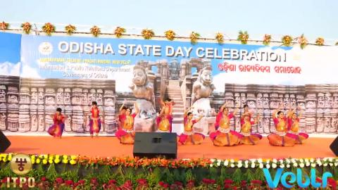 Odisha State Day Celebration - Performance A at IITF 2017